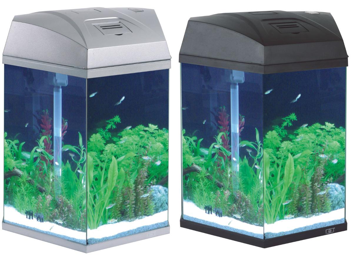 lille akvarie m pumpe